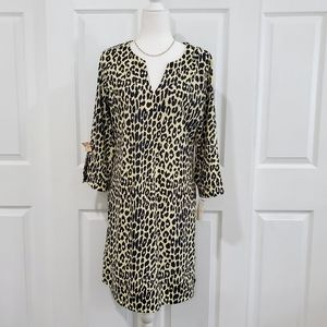 NWT, Navy Cheetah Print Dress